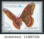 fujeira   circa 1972  stamp...   Shutterstock . vector #113887336