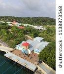 mahogany bay roatan honduras... | Shutterstock . vector #1138873568