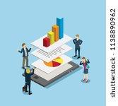 business technology isometric | Shutterstock .eps vector #1138890962