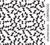 zigzag monochrome background.... | Shutterstock . vector #1138906232
