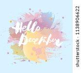 handwritten modern lettering... | Shutterstock .eps vector #1138906622