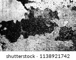 black and white old cement wall ... | Shutterstock . vector #1138921742