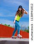 summer sport and active... | Shutterstock . vector #1138941812