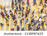hong kong  china   jan 7  2010  ... | Shutterstock . vector #1138987625