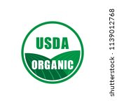 Usda Organic Certified Stamp...