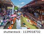 damnoen saduak  thailand   june ... | Shutterstock . vector #1139018732