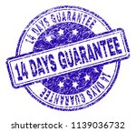 14 days guarantee stamp seal... | Shutterstock .eps vector #1139036732