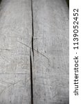 wooden gray background texture... | Shutterstock . vector #1139052452