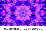 geometric design  mosaic of a... | Shutterstock .eps vector #1139109932