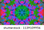 geometric design  mosaic of a... | Shutterstock .eps vector #1139109956
