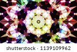 geometric design  mosaic of a... | Shutterstock .eps vector #1139109962
