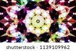 geometric design  mosaic of a... | Shutterstock .eps vector #1139109962