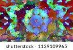 geometric design  mosaic of a... | Shutterstock .eps vector #1139109965