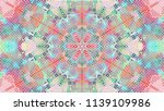 geometric design  mosaic of a... | Shutterstock .eps vector #1139109986