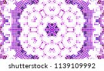 geometric design  mosaic of a... | Shutterstock .eps vector #1139109992
