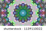 geometric design  mosaic of a... | Shutterstock .eps vector #1139110022