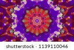 geometric design  mosaic of a... | Shutterstock .eps vector #1139110046
