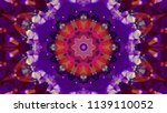 geometric design  mosaic of a... | Shutterstock .eps vector #1139110052
