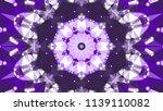 geometric design  mosaic of a... | Shutterstock .eps vector #1139110082