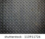 aluminium dark list with... | Shutterstock . vector #113911726