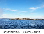 view of the lighthouse and... | Shutterstock . vector #1139135045