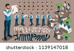 isometric vintage background ... | Shutterstock .eps vector #1139147018