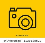 camra icon signs | Shutterstock .eps vector #1139165522
