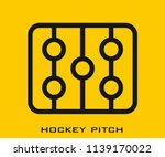 hockey icon signs | Shutterstock .eps vector #1139170022