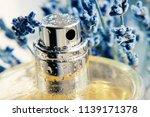 closeup metallic spray perfume... | Shutterstock . vector #1139171378