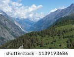 mountain landscape  in the... | Shutterstock . vector #1139193686
