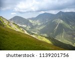 summer hike in the slovakia... | Shutterstock . vector #1139201756