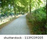 dutch path   lane bolsward ... | Shutterstock . vector #1139239205