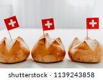 traditional swiss bread buns...   Shutterstock . vector #1139243858