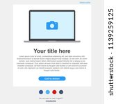 newsletter email template ui ...