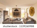 living room interior design....   Shutterstock . vector #1139260988