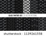 african black  white and... | Shutterstock .eps vector #1139261558