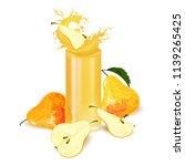 pears. pears still life. piece... | Shutterstock .eps vector #1139265425