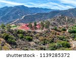 Fire Retardant Covers Hills In...