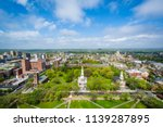 View Of The New Haven Green And ...