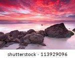 Australian Seascape At Sunrise...