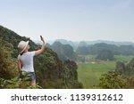 modern technology and... | Shutterstock . vector #1139312612