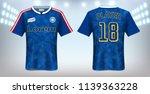 soccer jersey and t shirt sport ...   Shutterstock .eps vector #1139363228