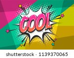 cool burst wow comic text... | Shutterstock .eps vector #1139370065