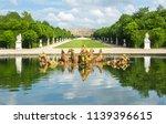 apollo fountain in versailles... | Shutterstock . vector #1139396615