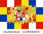 flag of antwerp is the... | Shutterstock . vector #1139430455