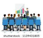 presentation and consultation... | Shutterstock .eps vector #1139431805