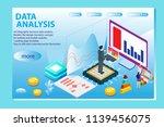 3d infographic business data... | Shutterstock .eps vector #1139456075