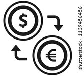 foreign exchange icon | Shutterstock .eps vector #1139456456