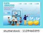 3d infographic business data...   Shutterstock .eps vector #1139460395