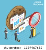 flat isometric concept of web... | Shutterstock . vector #1139467652